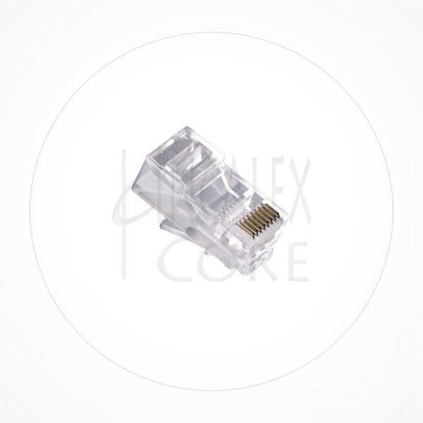 Conector Ethernet UTP Macho Rj45 Cat6