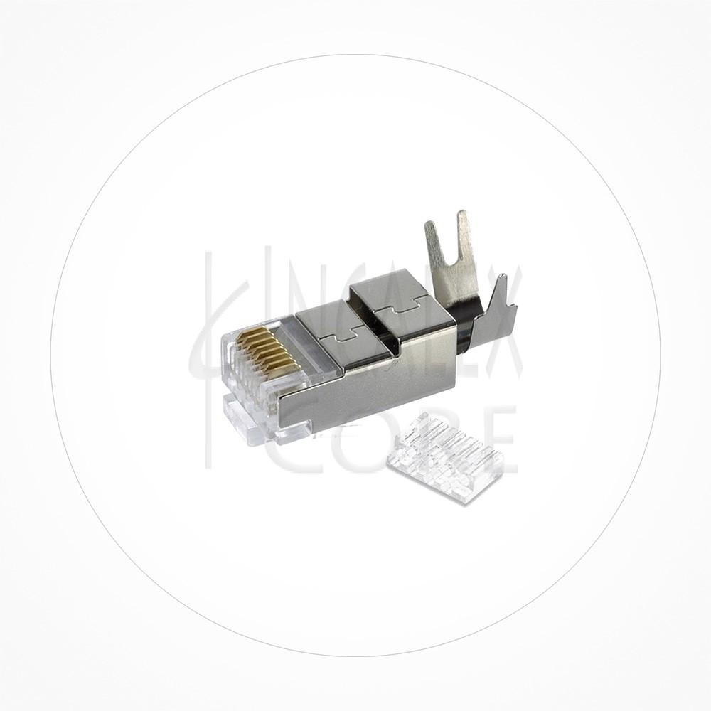 Conector Ethernet FTP Macho Rj49 Cat6/Cat7