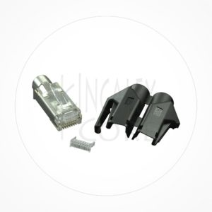 Conector Ethernet FTP Macho Rj49 Cat6A Hirose