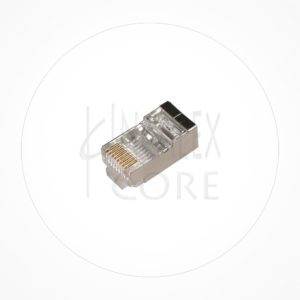 Conector Ethernet FTP Macho Rj49 Cat6A Guia Interna