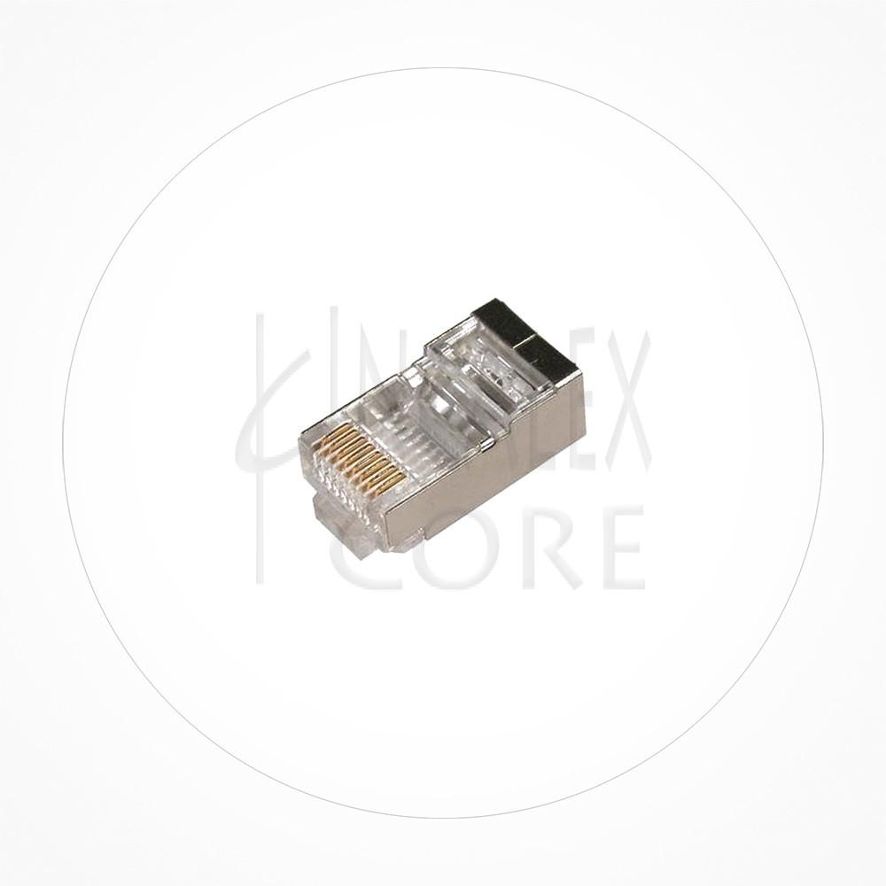Conector Ethernet FTP Macho Rj49 Cat6A Guia Interna