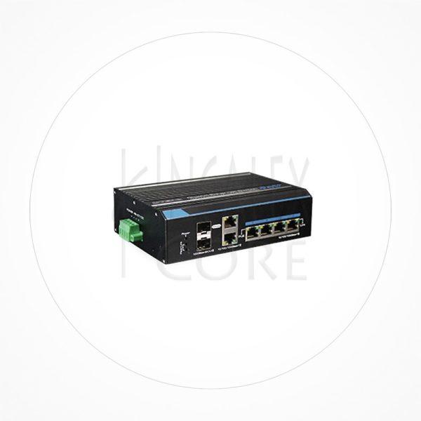 Switch Hi-PoE 4puertos 1Gb +2Uplink Gigabit/SFP 150W IXC7204GEHPOE