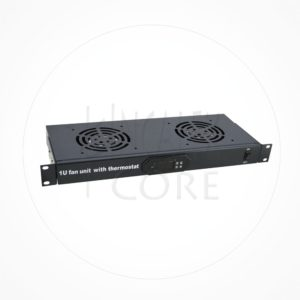 "Termostato Digital 2 Ventiladores Rack 19"" 1U"