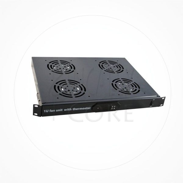 "Termostato Digital 2 Ventiladores Rack 19"" 1U"
