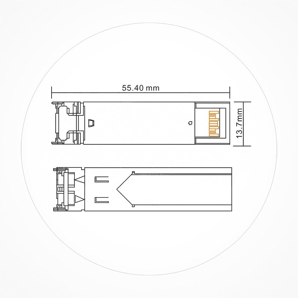 Transceiver SFP Multimodo
