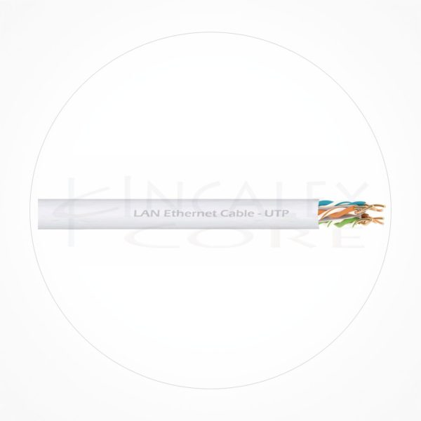 Cable UTP Ethernet Cubierta Blanca LSZH Cat6