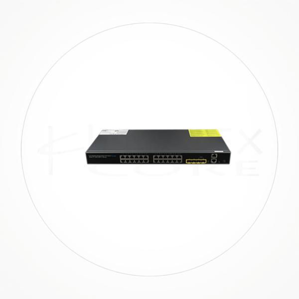Switch 24 Ethernet puertos 1Gb SFP +2Uplink 10Gb/SFP Manejable Layer 3 ICX7724GE