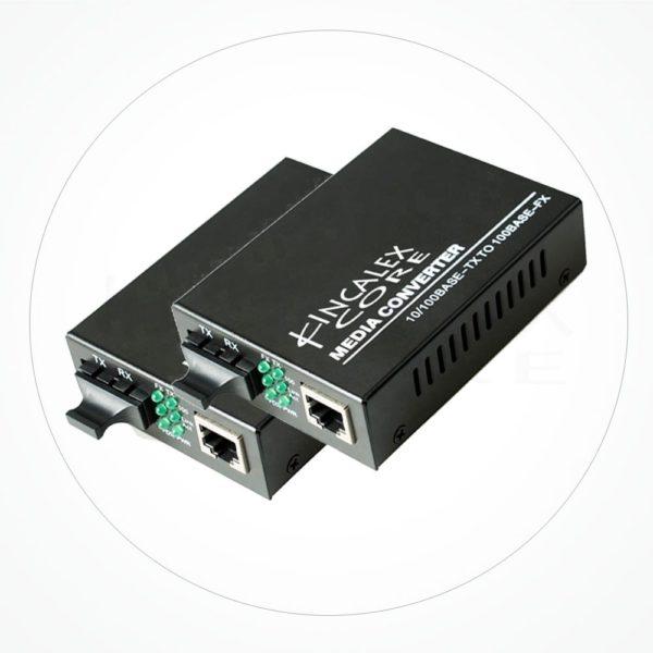 Conversor SC Monomodo 10/100/1000 M-1310nm 20 km IXG2SA20F3S