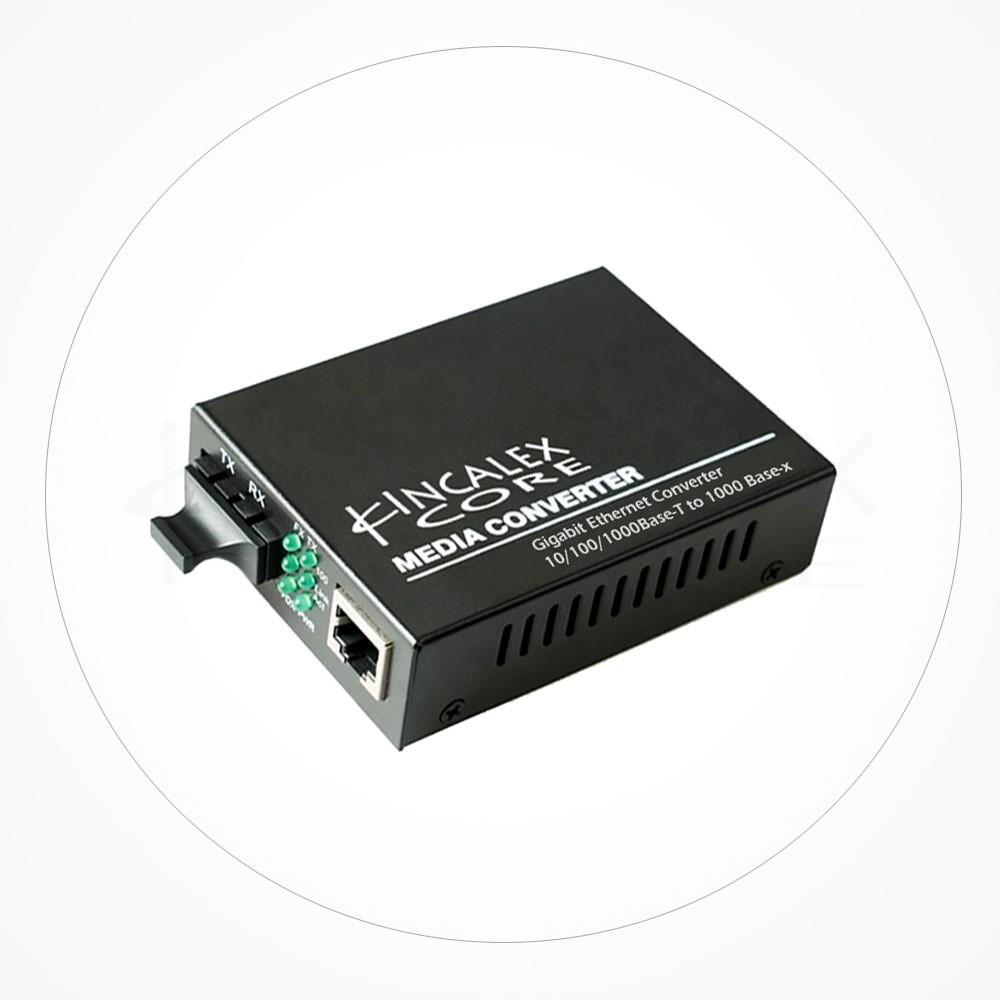 Conversor SC Monomodo DFB 10/100M-1550nm 120 km IX2SA120D5S