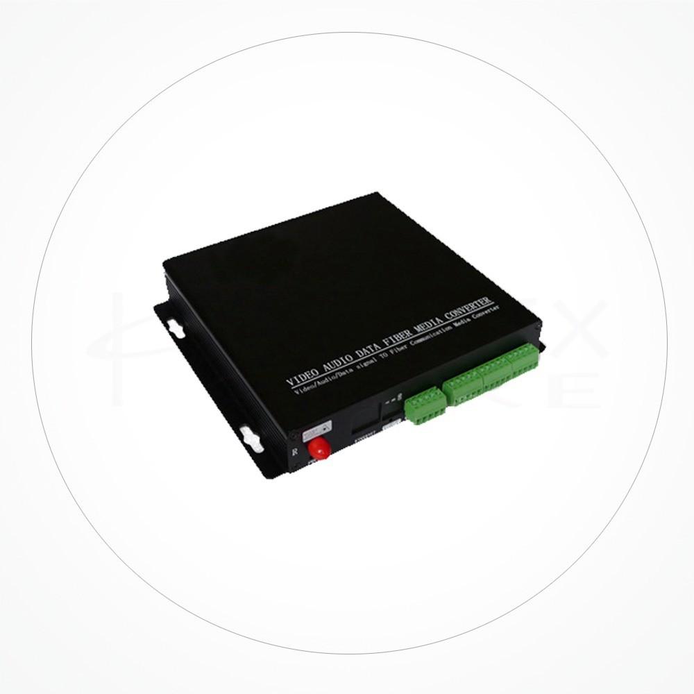 Conversor FC/SC/ST Audio Balanceado Bidireccional IX16A-8BI