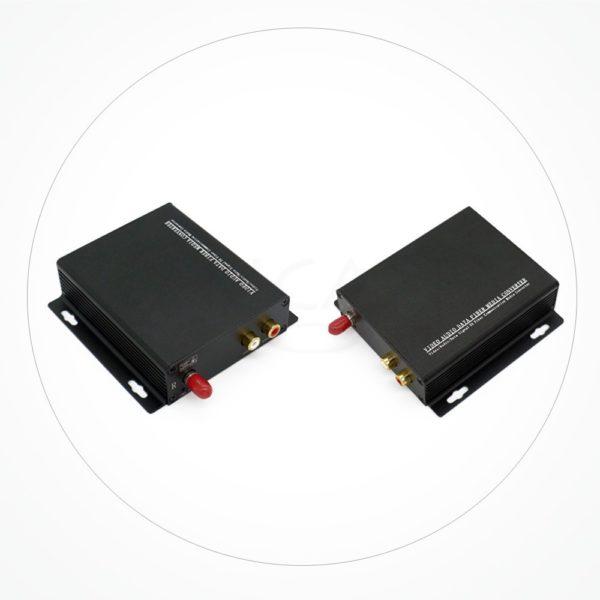 Conversor FC/SC/ST AUDIO IX2A-RCA