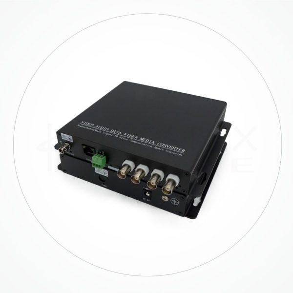 Conversor FC/SC/ST SDI-HD 4 Canales 10/100 M IXSDI-4V1E
