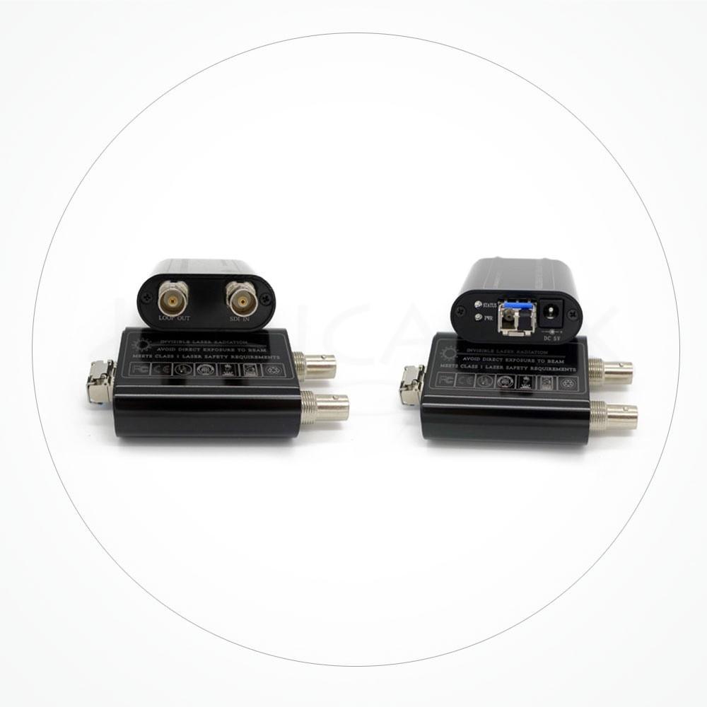 Conversor FC/SC/ST SDI-HD 4 Canales 10KM IXSDI-CCTV-4V1D