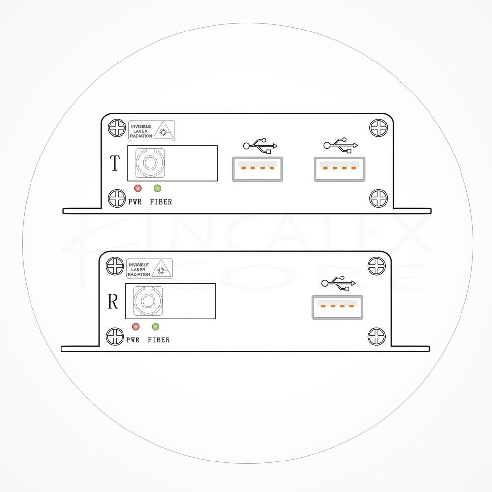 Conversor SC USB 2.0 IXUSB-KBM